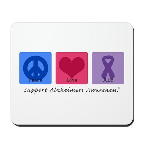 Peace Love Cure AD Mousepad
