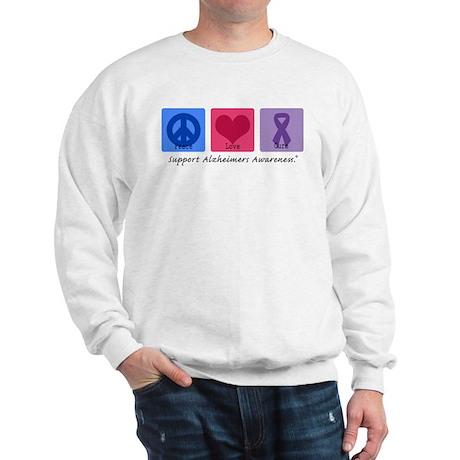Peace Love Cure AD Sweatshirt