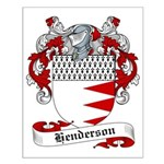 Henderson Family Crest Small Poster