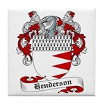 Henderson Family Crest Tile Coaster