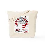 Henderson Family Crest Tote Bag