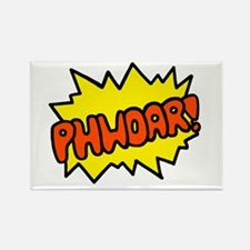 'Phwoar!' Rectangle Magnet (10 pack)