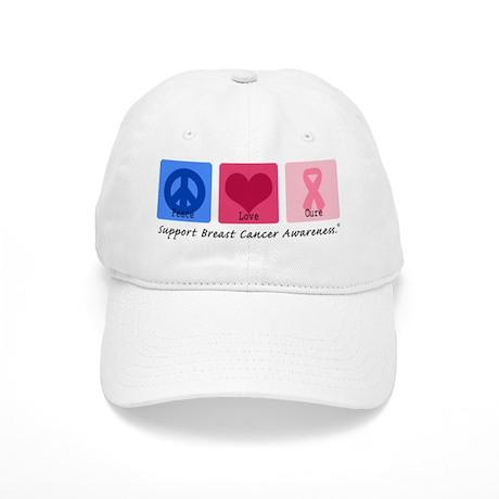 Peace Love Cure BC Cap