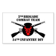 2nd BCT 34th Infantry Division (1) Decal