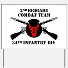 2nd BCT 34th Infantry Division (1) Yard Sign
