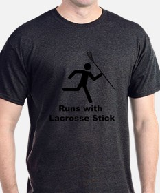 Smiley Lacrosse T-Shirt