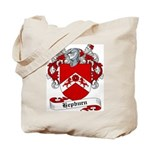 Hepburn Family Crest Tote Bag