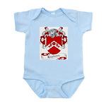 Hepburn Family Crest Infant Creeper