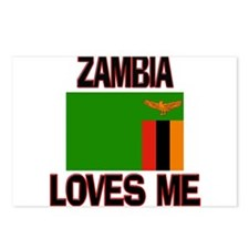 Zambia Loves Me Postcards (Package of 8)