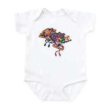 Origami Fans Infant Bodysuit