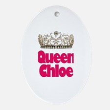 Queen Chloe Oval Ornament