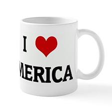 I Love 'MERICA Mug