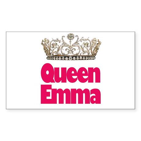 Queen Emma Rectangle Sticker