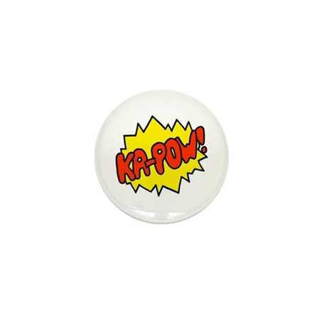 'Ka-Pow!' Mini Button (10 pack)