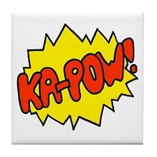 'Ka-Pow!' Tile Coaster