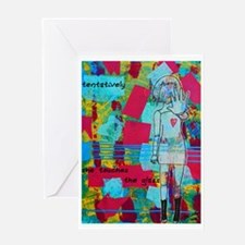 """Alice"" by Belinda Collinge Greeting Card"