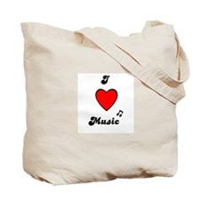 MUSIC IS MY BUSINESS Tote Bag