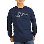 Join or Die Long Sleeve Dark T-Shirt