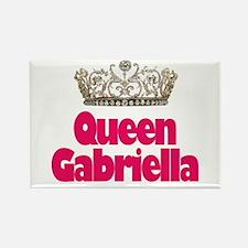 Queen Gabriella Rectangle Magnet