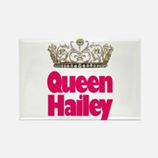 Queen Hailey Rectangle Magnet