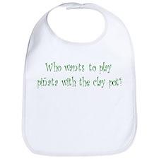 Pinata Clay Pot Bib
