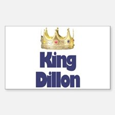 King Dillon Rectangle Decal