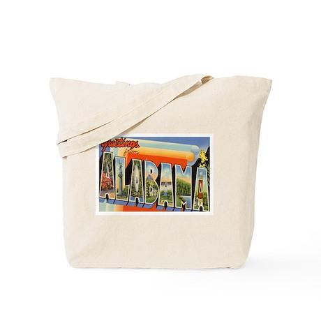 Alabama AL Tote Bag