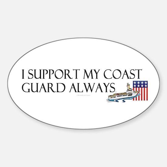 Coast Guard Always Sticker (Oval)