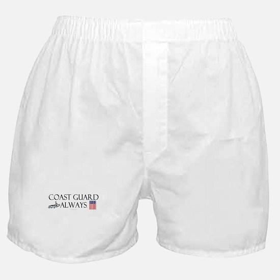 Coast Guard Always Boxer Shorts