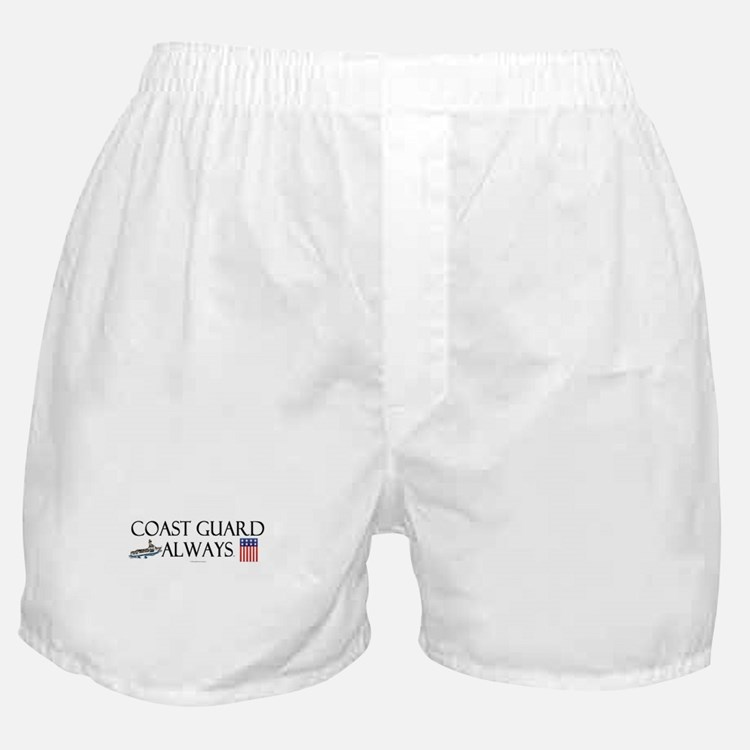 Coast Guard Always Boxer Shorts