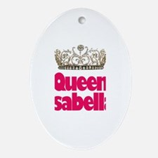 Queen Isabella Oval Ornament