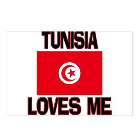 Tunisia Loves Me Postcards (Package of 8)