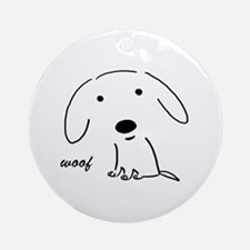 Little Woof Ornament/Keepsake