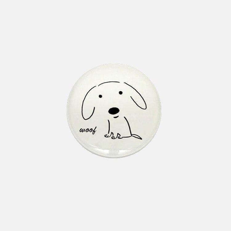 Little Woof Mini Button