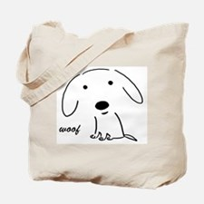 Little Woof Tote Bag