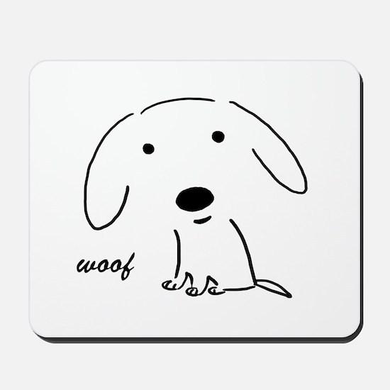 Little Woof Mousepad