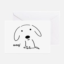 Little Woof Greeting Cards (Pk of 20)