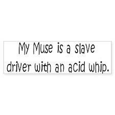 Muse Acid Whip Bumper Bumper Sticker