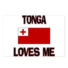 Tonga Loves Me Postcards (Package of 8)