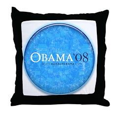 Obama '08 Throw Pillow