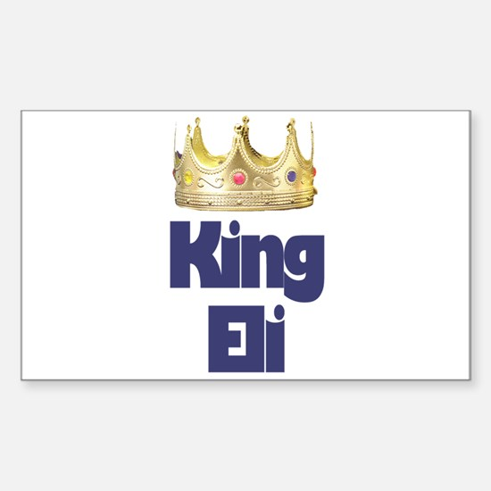 King Eli Rectangle Decal
