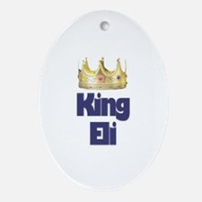 King Eli Oval Ornament