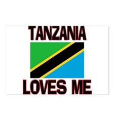 Tanzania Loves Me Postcards (Package of 8)