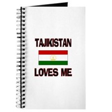 Tajikistan Loves Me Journal