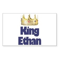 King Ethan Rectangle Decal