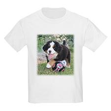 Soccer Berner Puppy T-Shirt