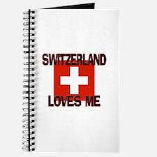 Switzerland Loves Me Journal