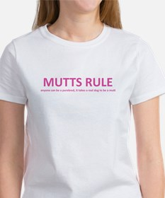 Mutts Rule (Pink) Tee