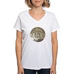 U.S. Forest Ranger Women's V-Neck T-Shirt