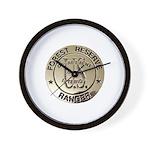 U.S. Forest Ranger Wall Clock